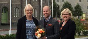 Sevendof AS mottar Etablererstipend fra Adolf Øyens Fond, gruppebilde
